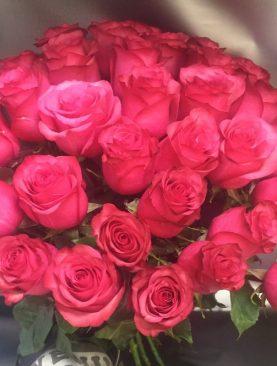 35 роз эквадора 50 см