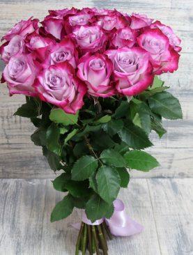 Букет из 21 розы Эквадора 60 см